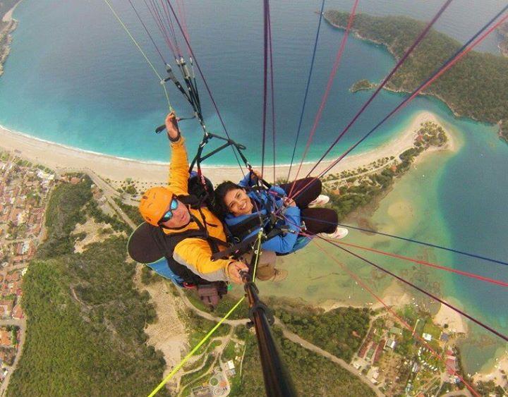 Daisy Tandem Paragliding in Turkey