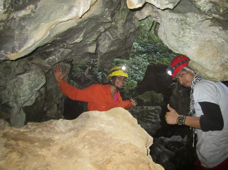 Caving in Meghalaya for Beginners