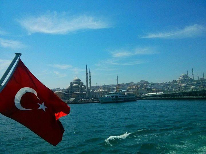 Turkey skyline