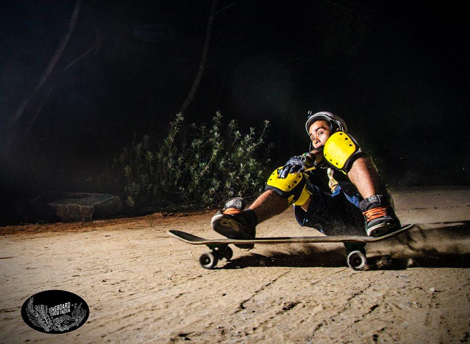 Boris Nongthomba Longboarding
