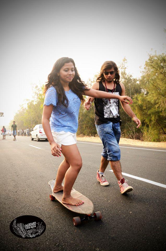Longboarding Workshop at India Surf Festival